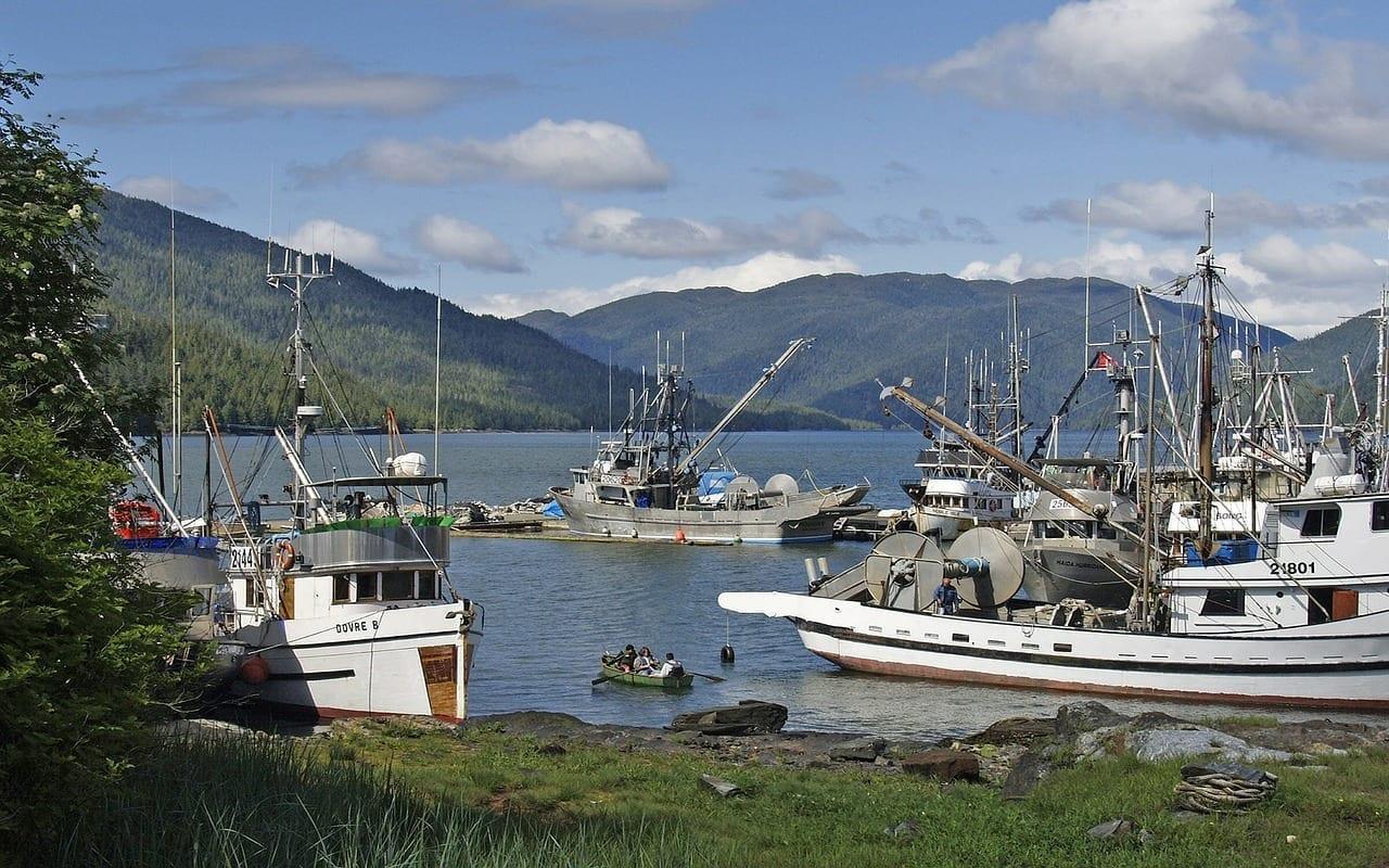 Prince Rupert Ciudad Costa Canadá