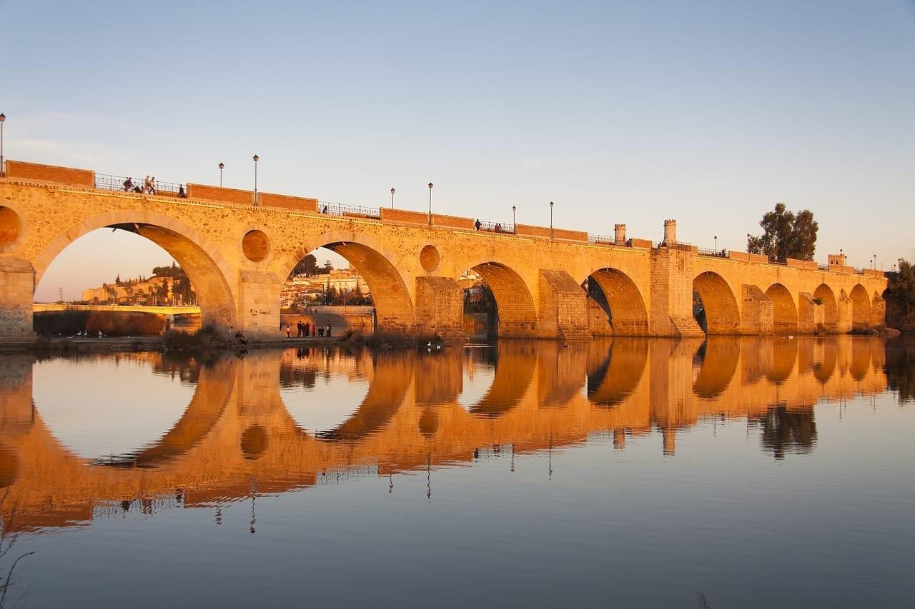 Puente Badajoz Guadiana España