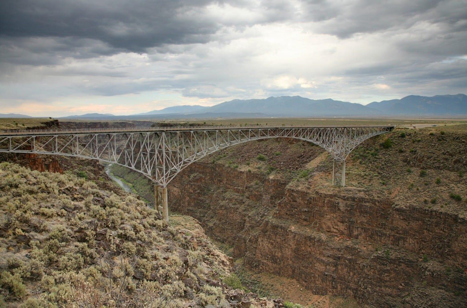 Puente de la Garganta del Río Grande Taos NM Estados Unidos