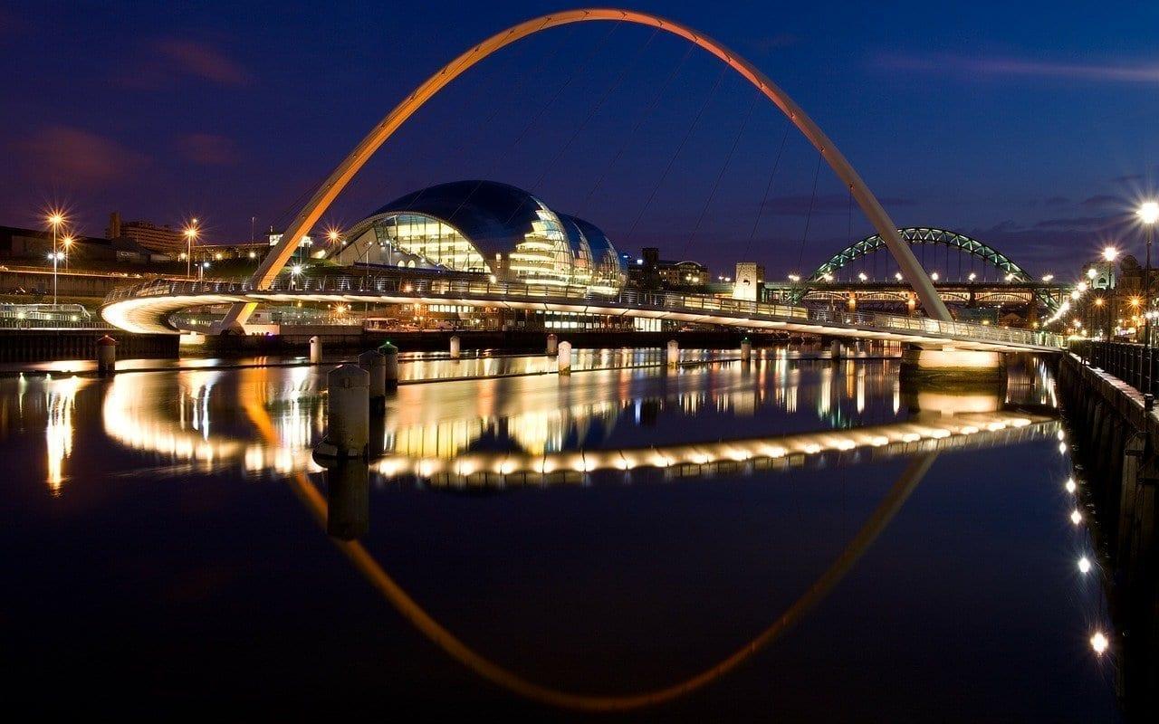 Puente Del Milenio Gateshead Newcastle Australia
