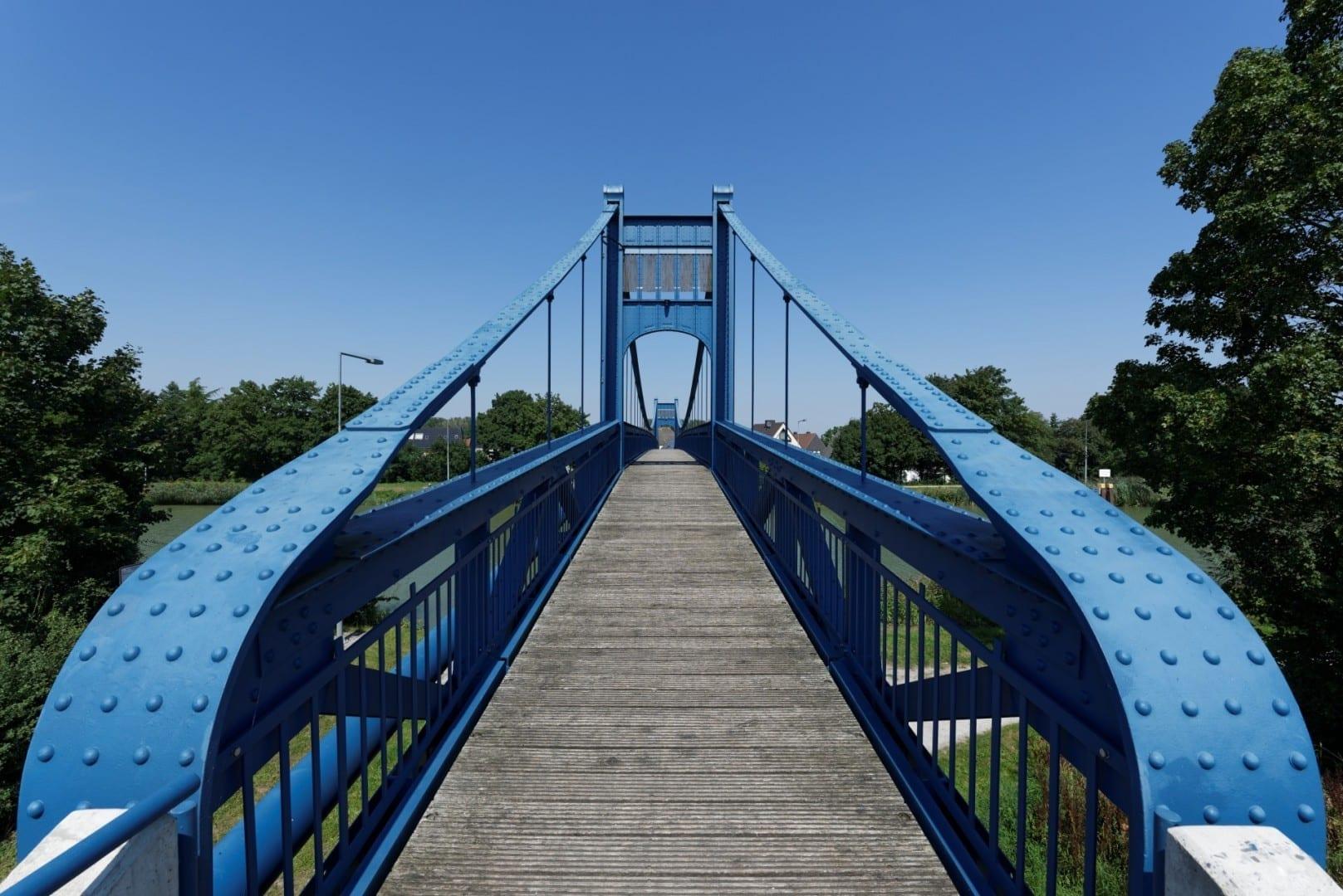 Puente peatonal Hamm Alemania