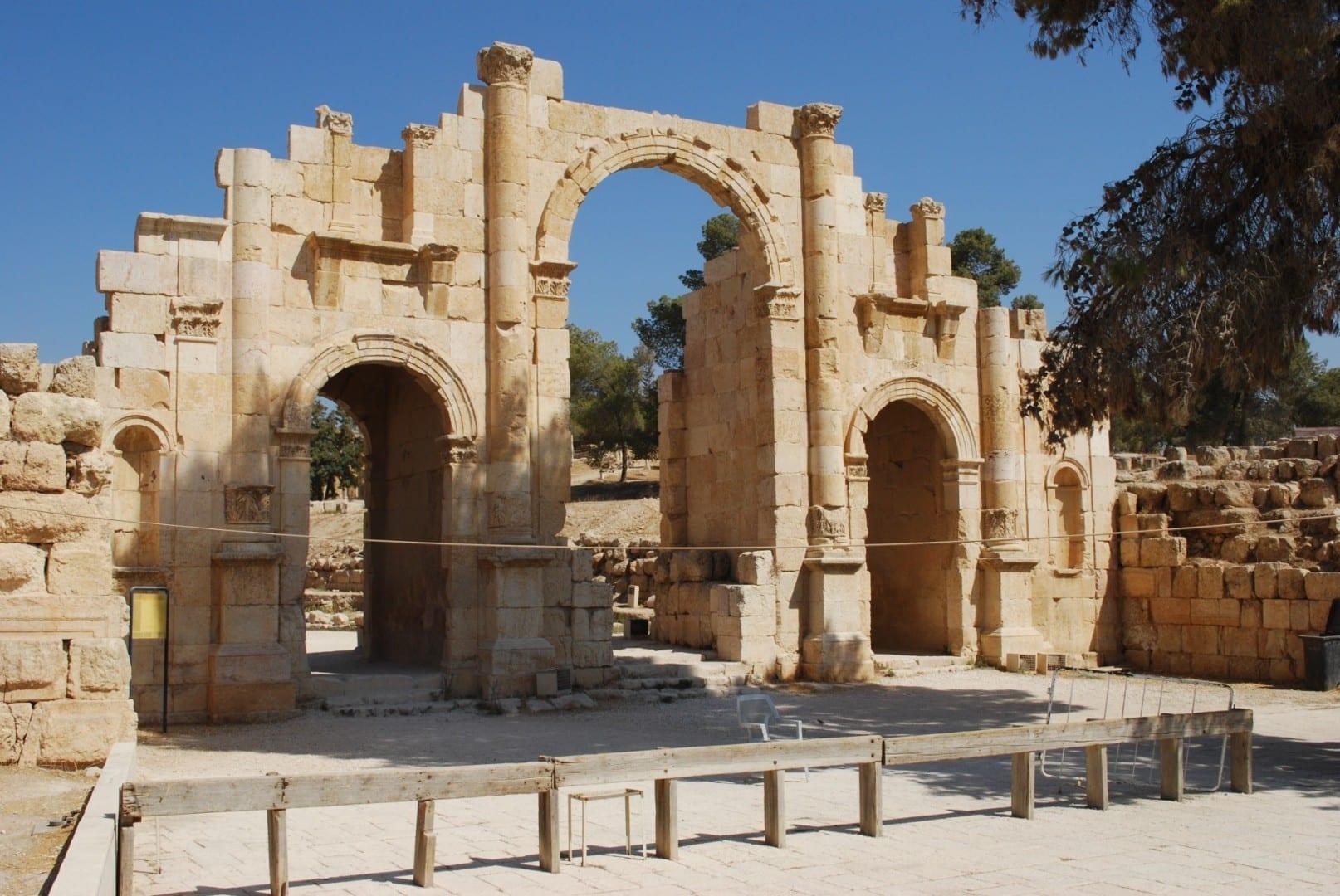 Puerta Sur Jerash Jordania