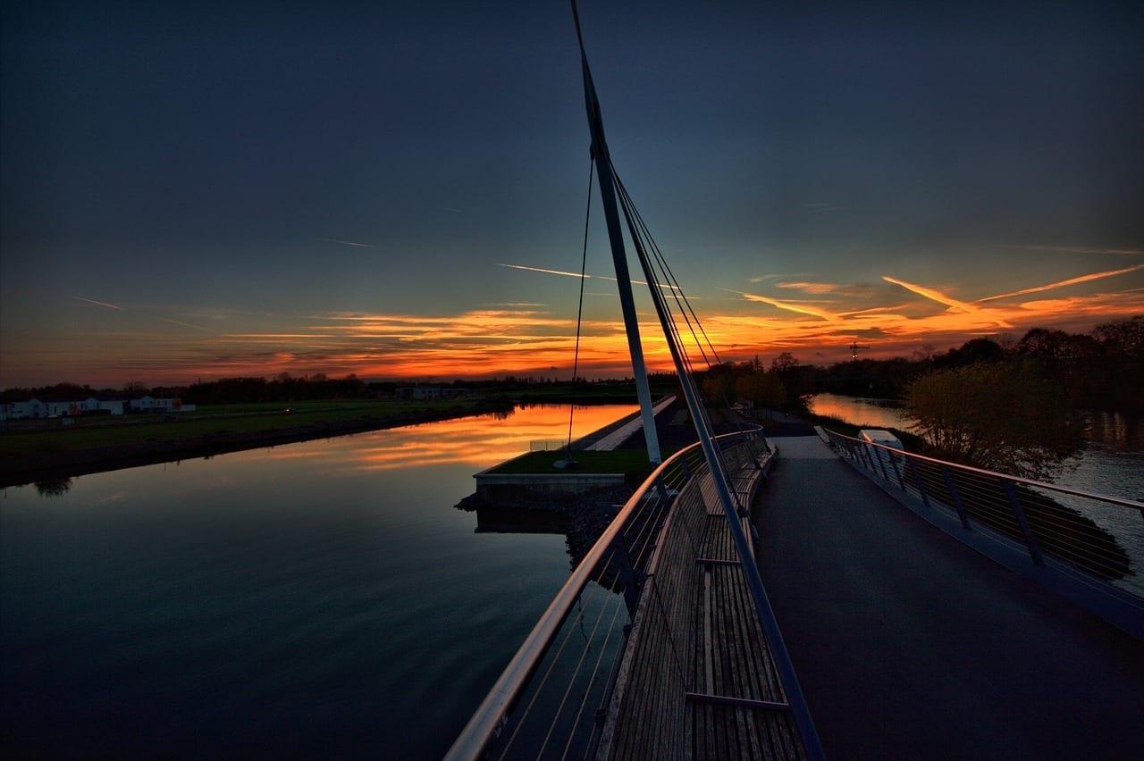 Puerto Bismark Rin Herne Canal Gelsenkirchen Alemania