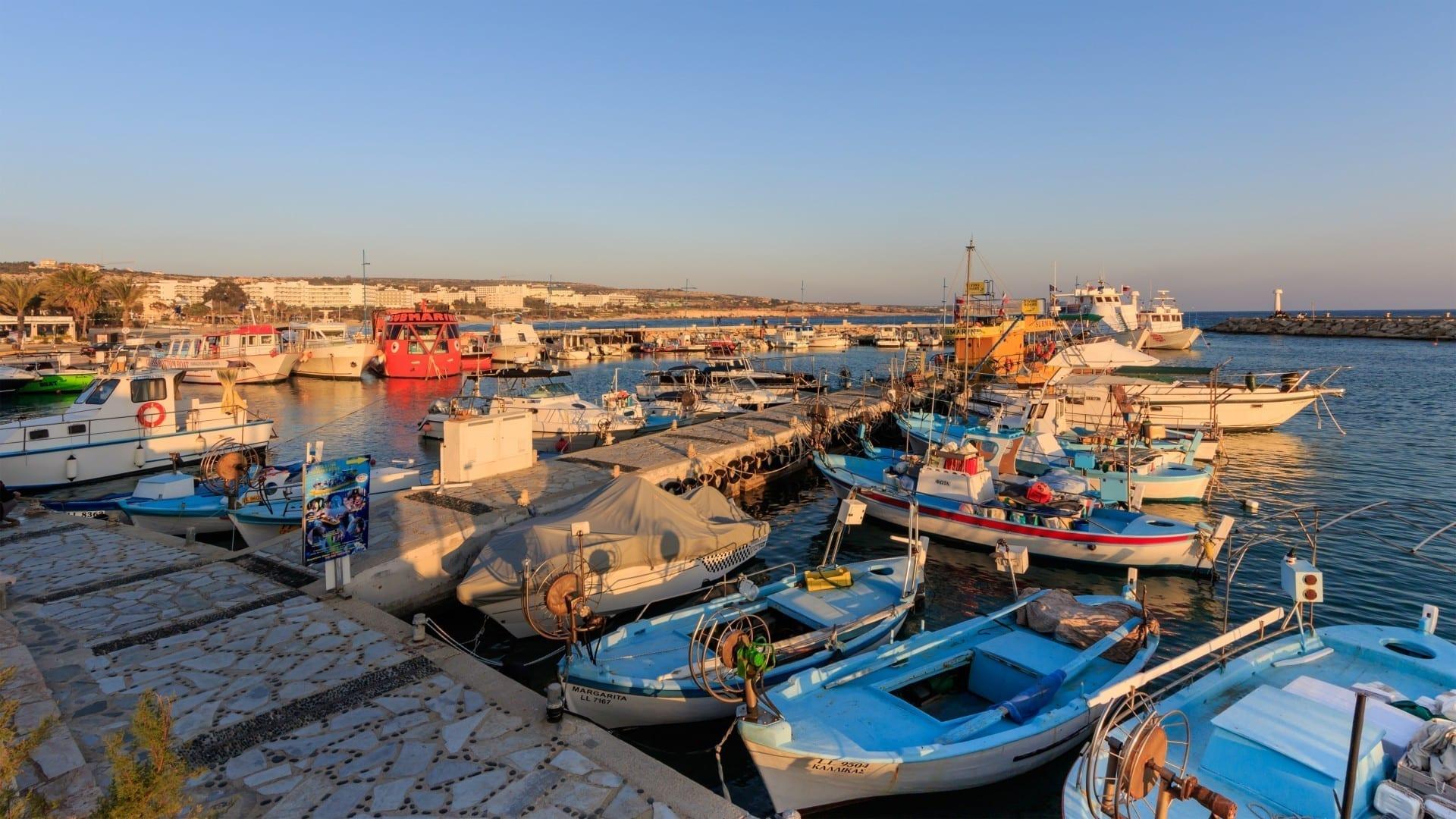 Puerto de Agia Napa Ayia Napa Chipre