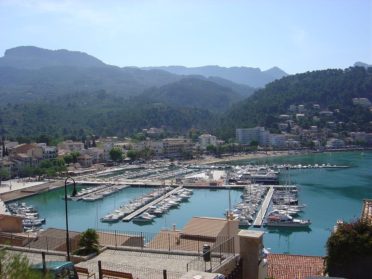 Puerto de Sóller Sóller, Mallorca España