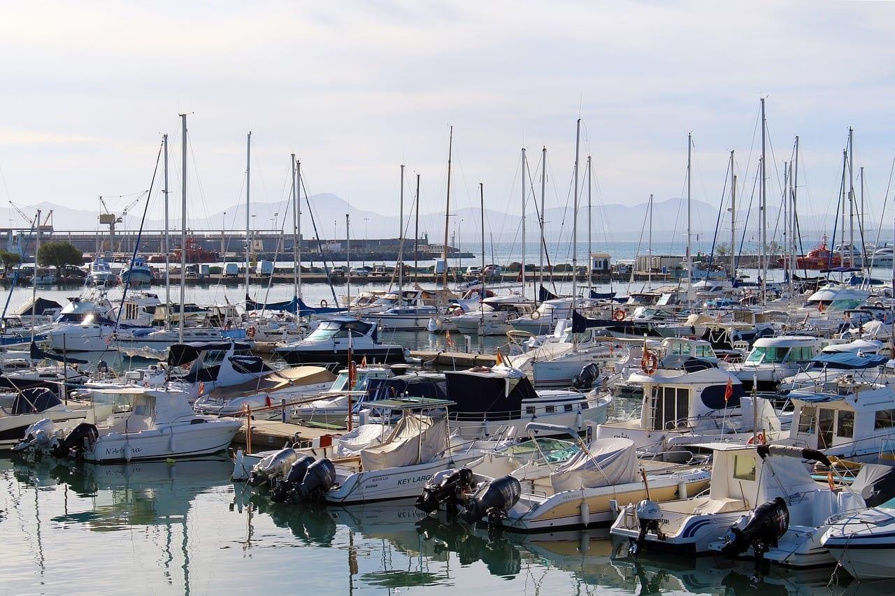 Puerto Port D'alcudia Mallorca España