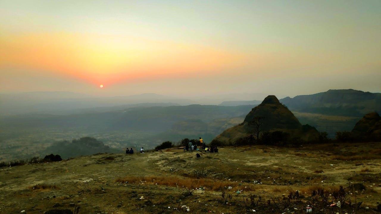 Puesta De Sol Pune India India