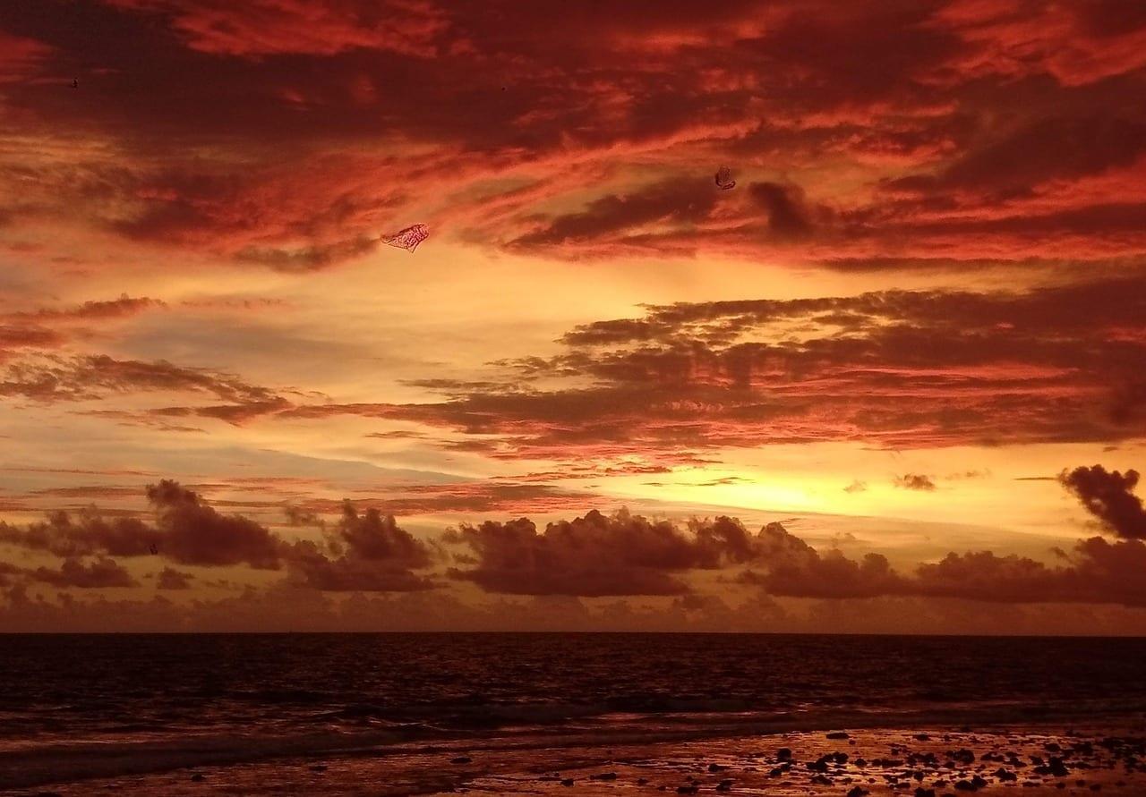 Puesta Del Sol Galle Sri Lanka Sri Lanka
