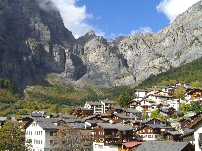 pulgar Leukerbad Suiza