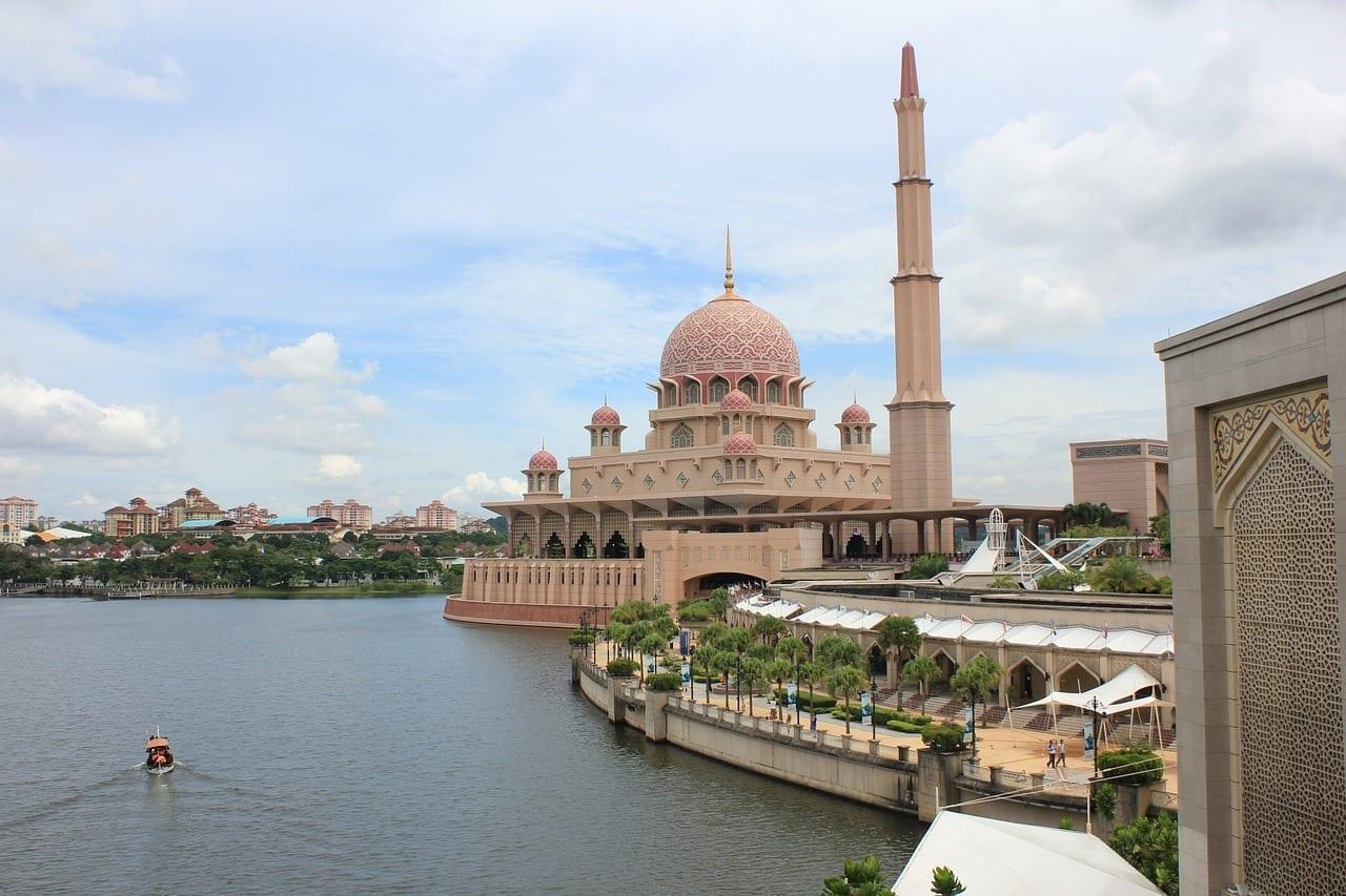 Putrajaya Mezquita Musulmanes Malasia