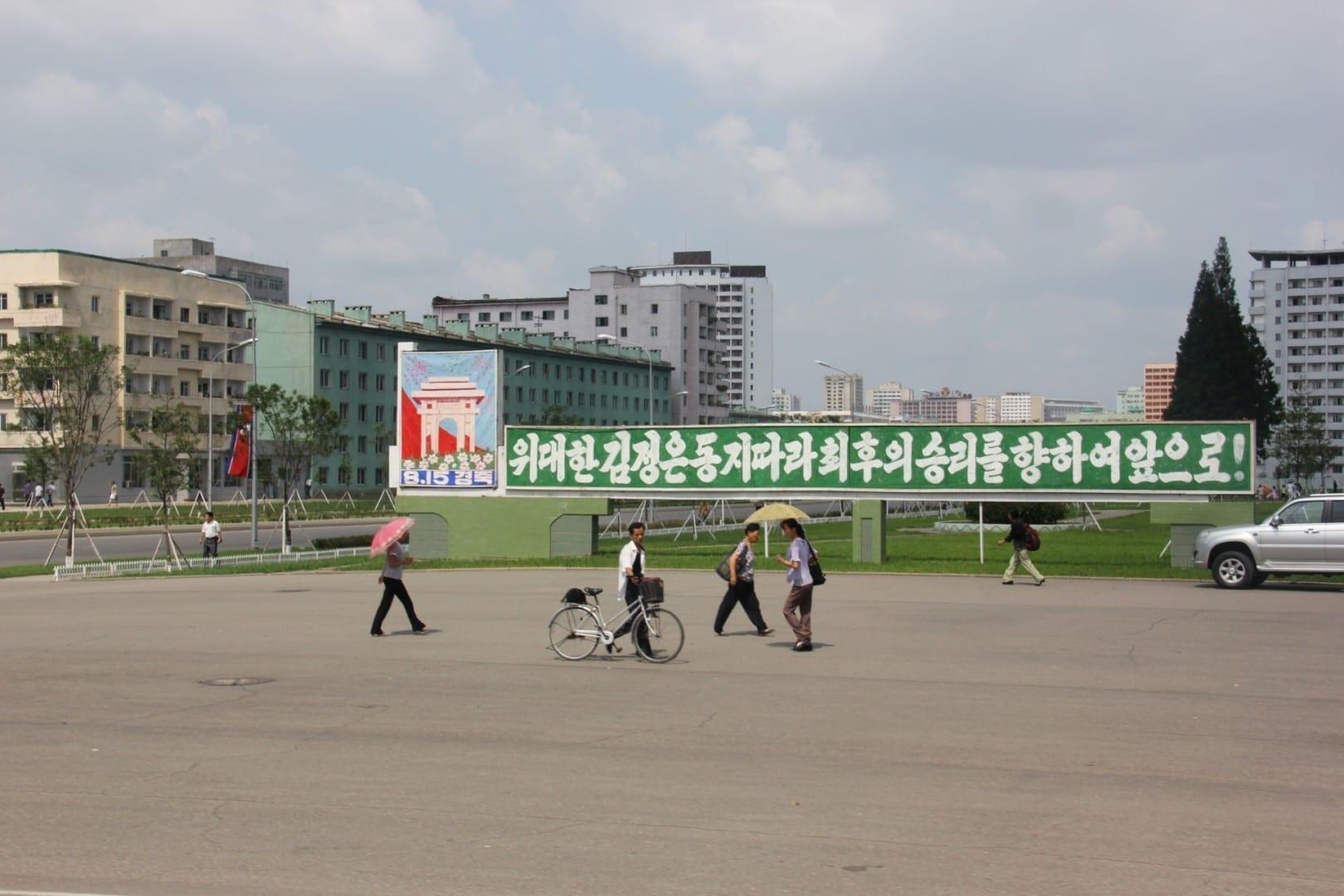 Pyongyang, capital de Corea del Norte Pyongyang Corea del Norte