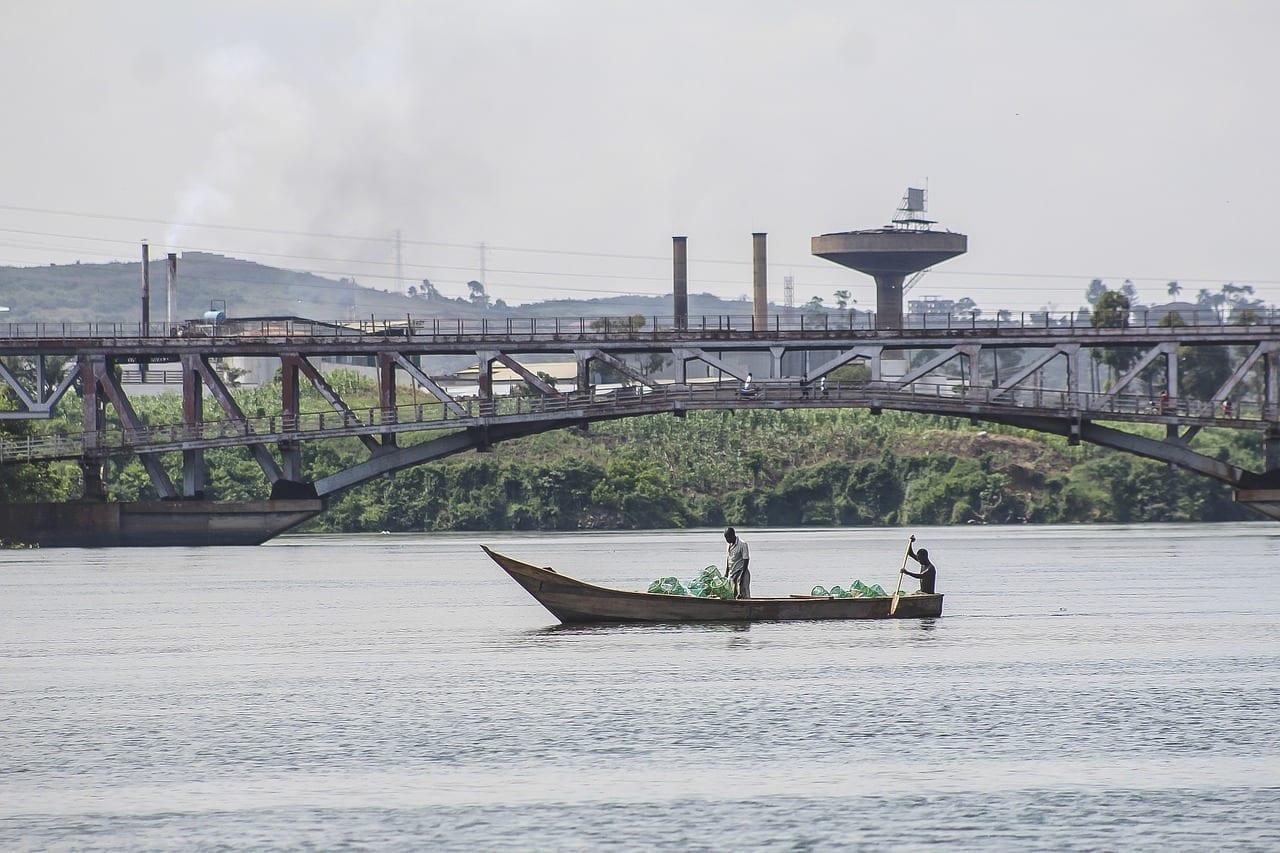 Río Nilo Uganda Kampala Uganda