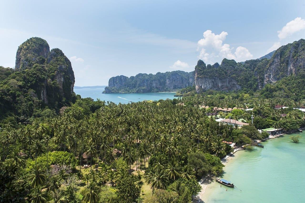 Railay Bay Krabi Tailandia Tailandés Tailandia