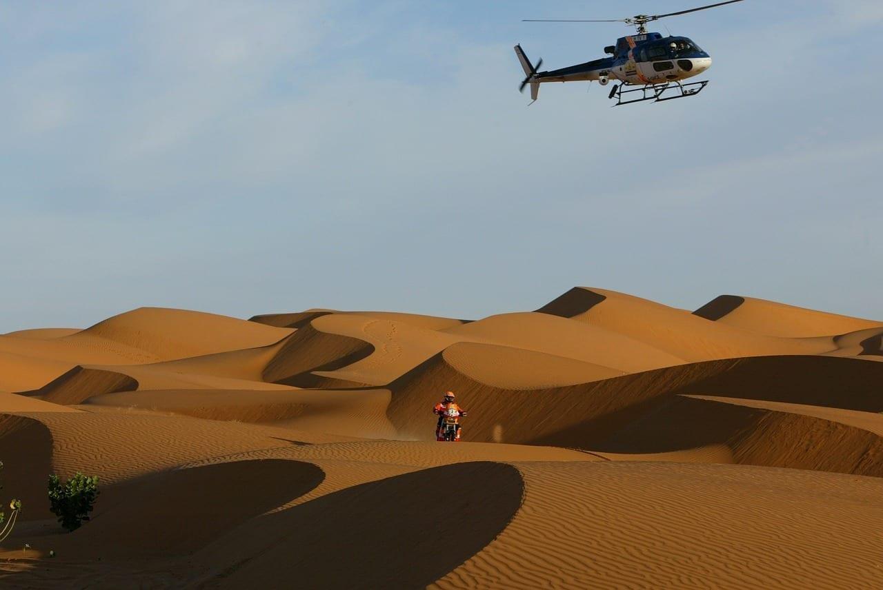 Rally Dakar Desierto Sahara Senegal