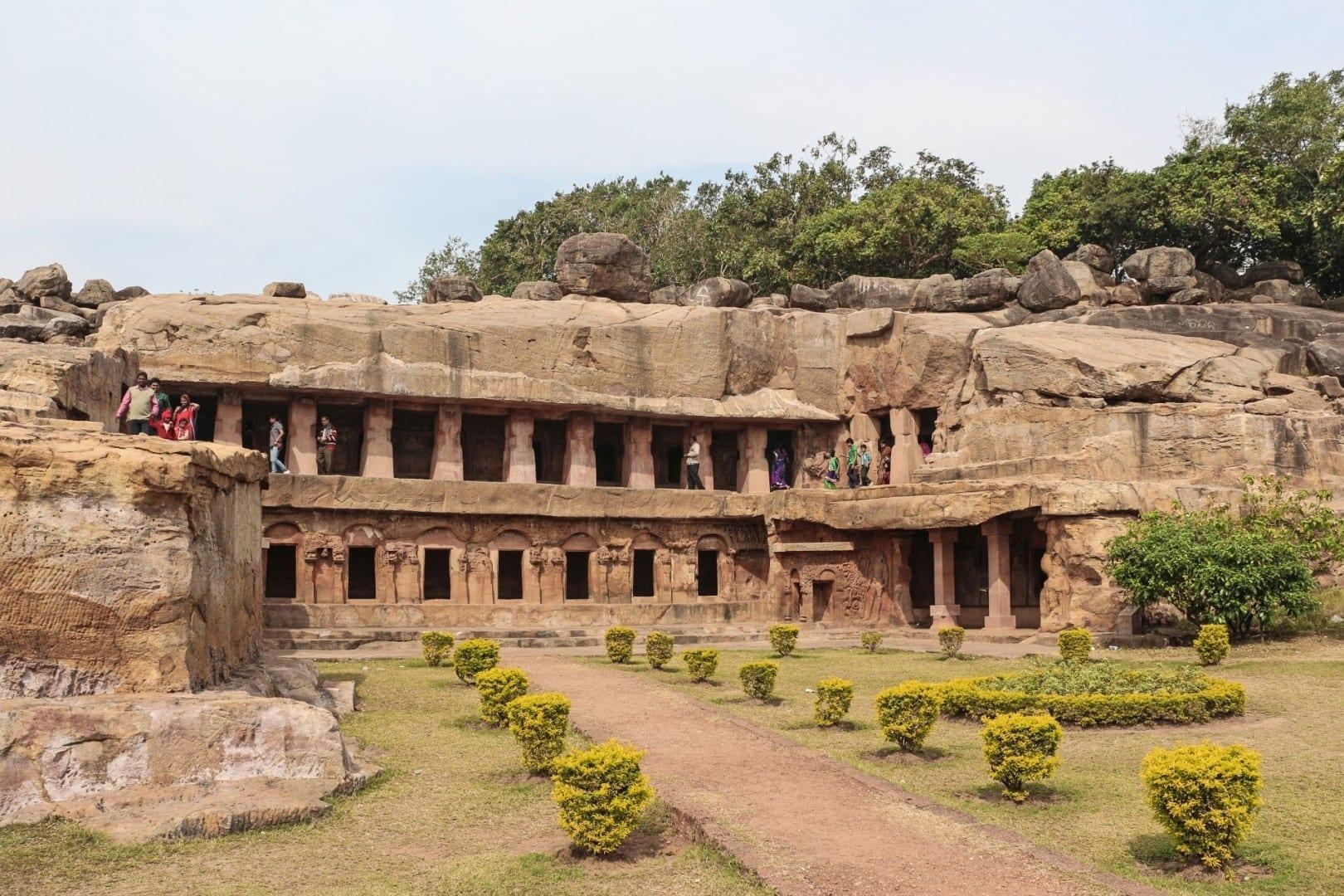 Rani Gumpha, Cuevas de Udaygiri Bhubaneswar India