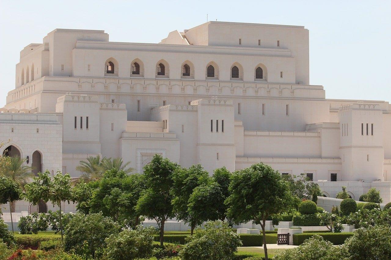 Real ópera Mascate Omán