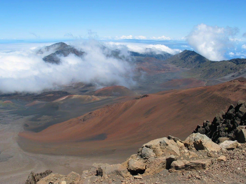 Región de la Cumbre de Haleakalā Maui HI Estados Unidos