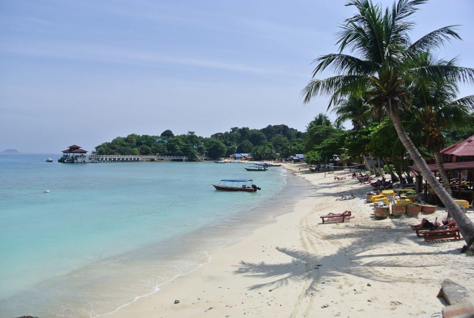 Relájate en Coral Bay, Perhentian Kecil Islas Perhentian Malasia