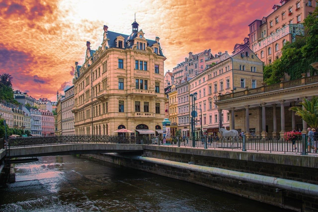República Checa De Viaje Karlovy Vary República Checa