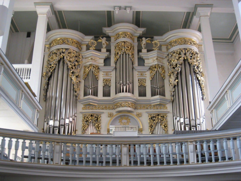 Órgano de la Iglesia Agustina Gotha Alemania