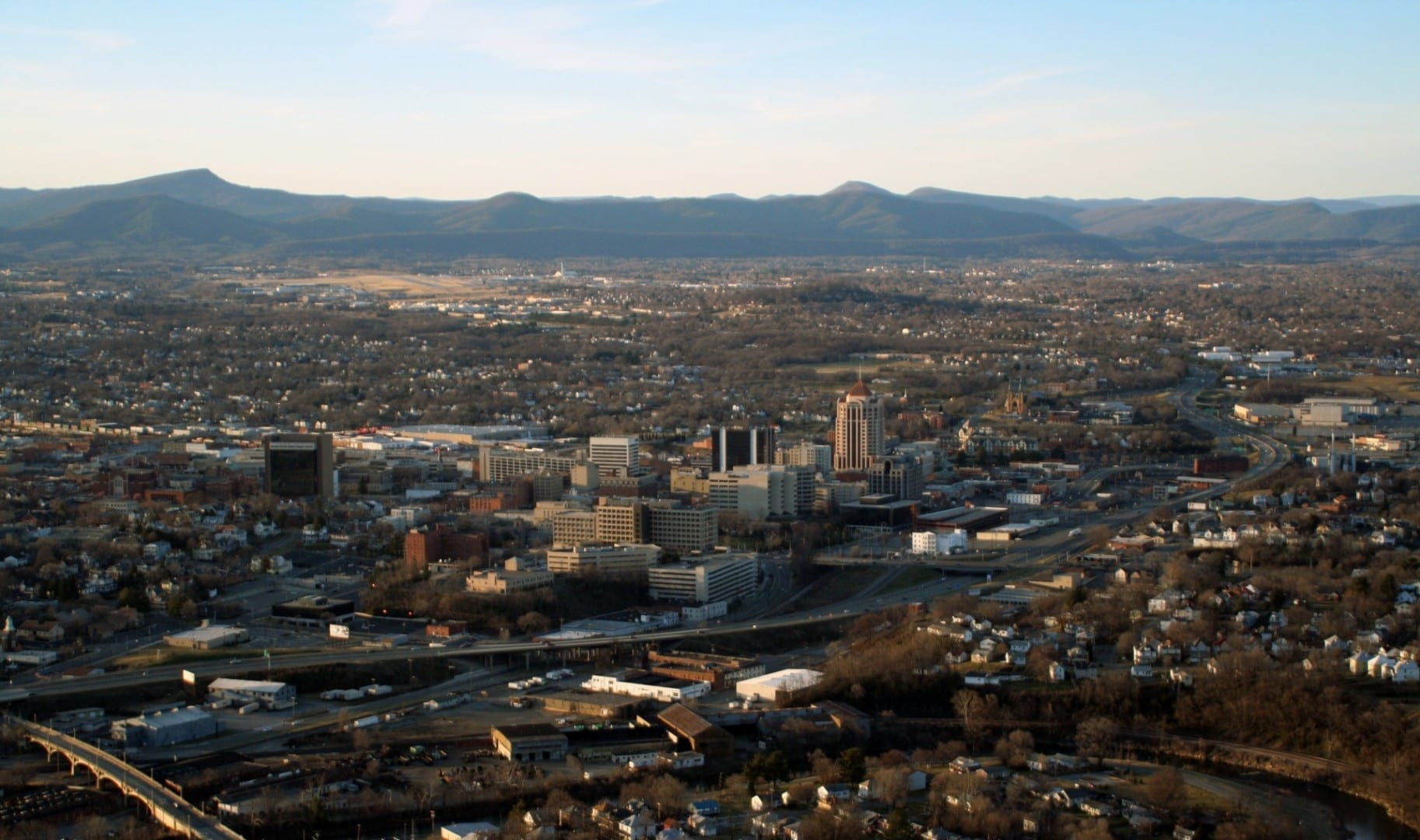 Roanoke, VA de la Mill Mountain Star Roanoke VA Estados Unidos