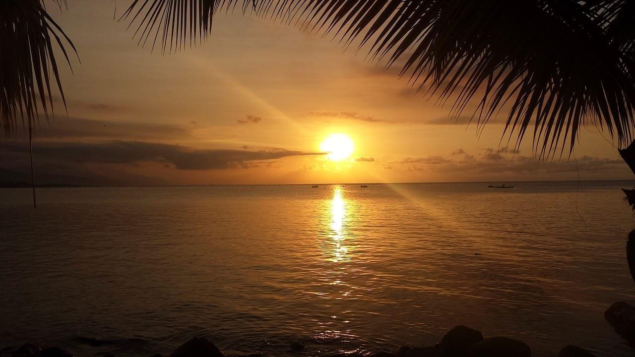Roatán Isla Puesta De Sol Honduras