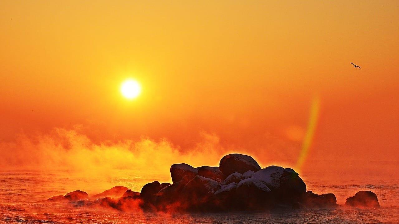 Roca Sacheon Playa Entre El Aeropuerto De Tianjin China