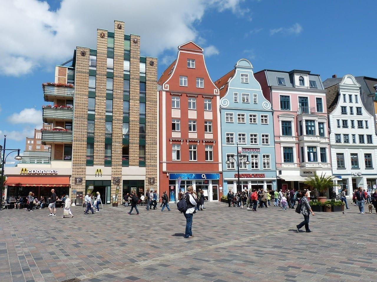 Rostock Mecklemburgo Mecklemburgo Pomerania Occidental Alemania