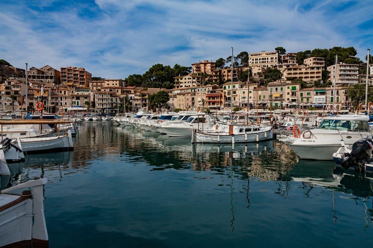 Sóller Mallorca Mar España