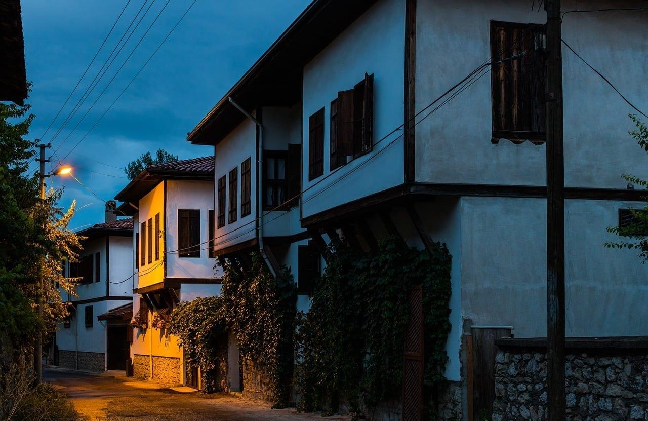Safranbolu Antiguo Edificio Histórico Turquía