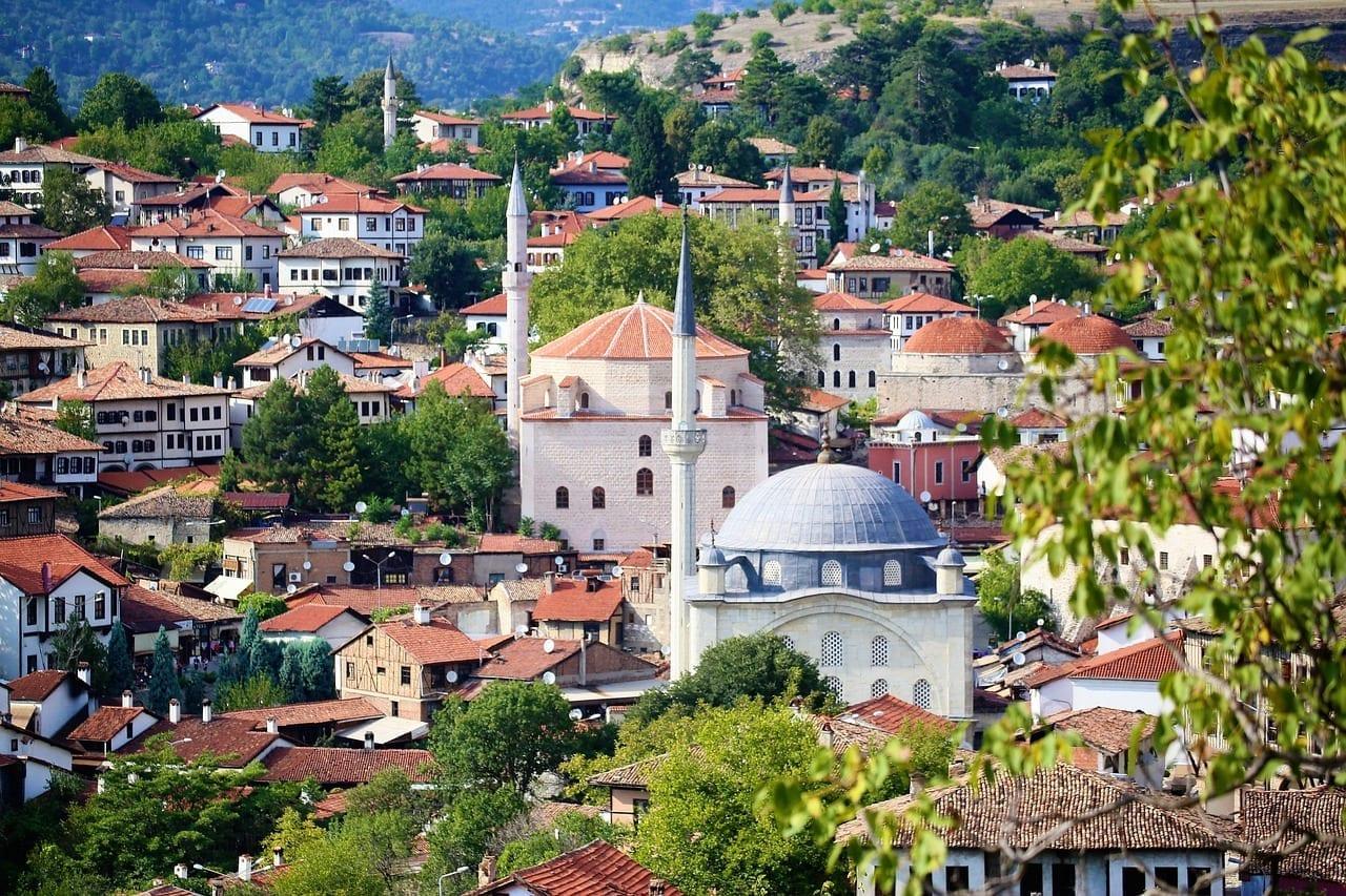 Safranbolu Ciudad Casas Turquía