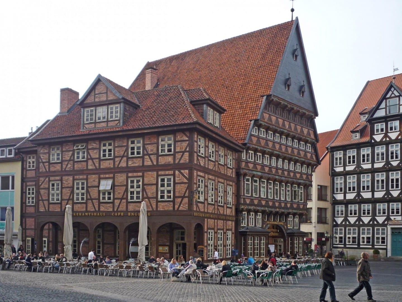 Salón del gremio de panaderos Hildesheim Alemania