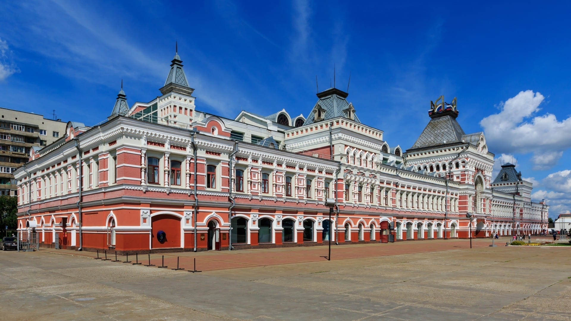 Sala de Exposiciones de la Feria Nizhny Novgorod Rusia