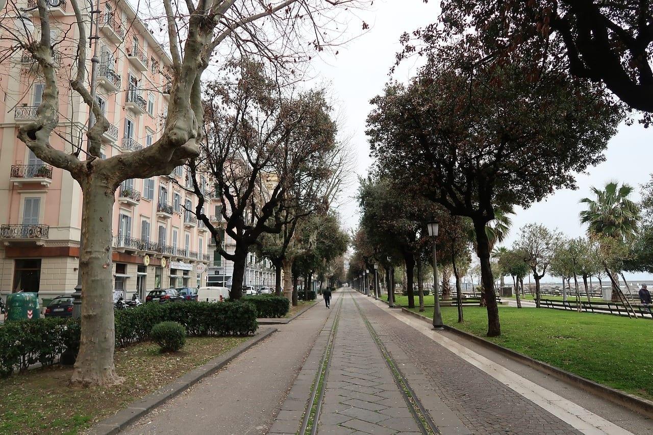 Salerno Italia Sendero Italia