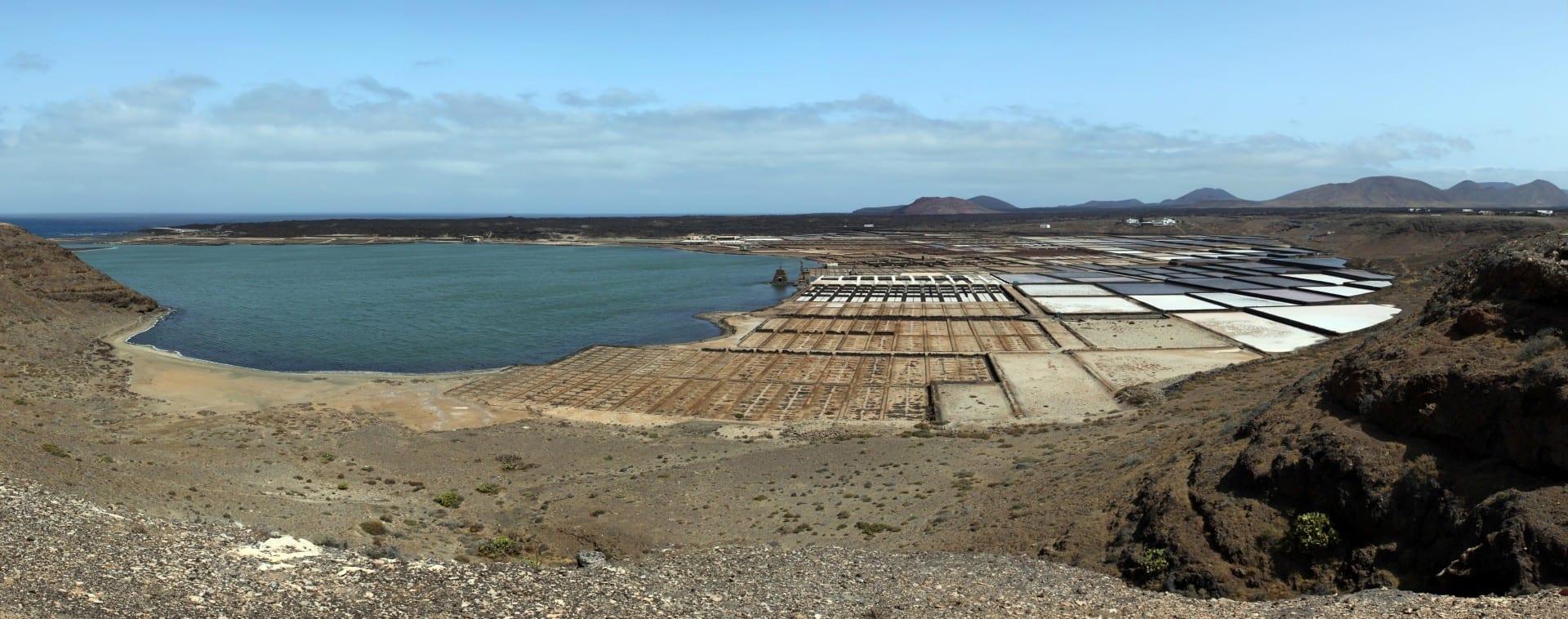 Salinas de Janubio Lanzarote (Islas Canarias) España