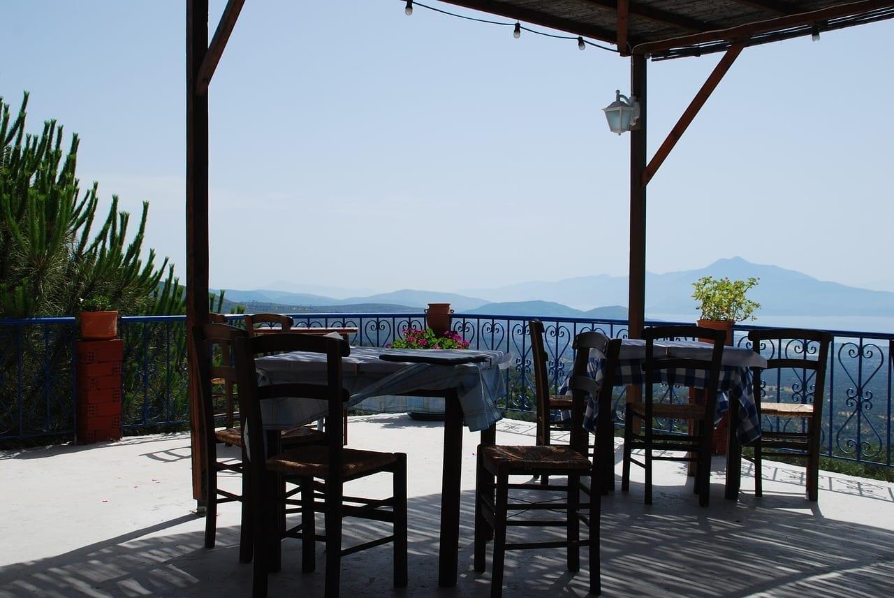 Samos Terraza La Visión Grecia
