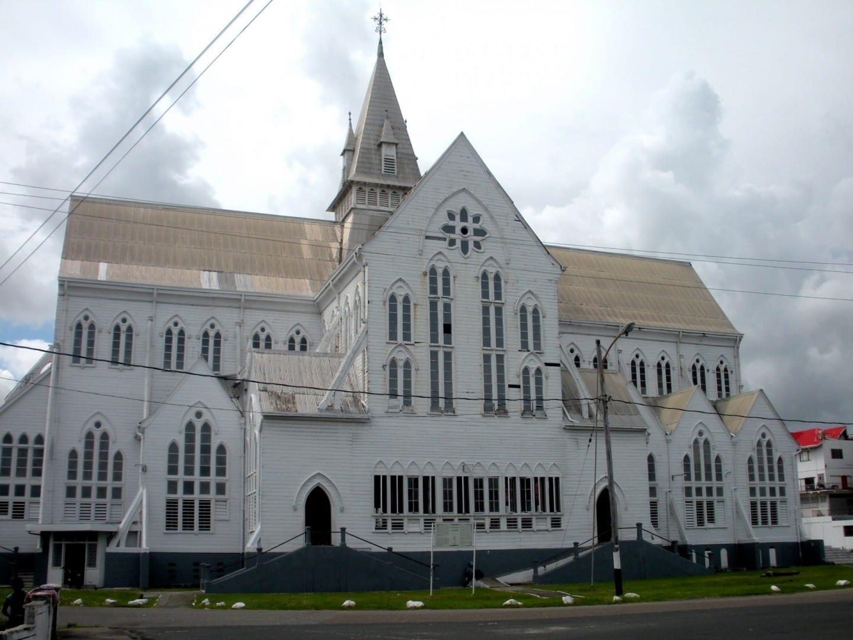 San Jorge: uno de los edificios de madera más grandes del mundo Georgetown Guyana