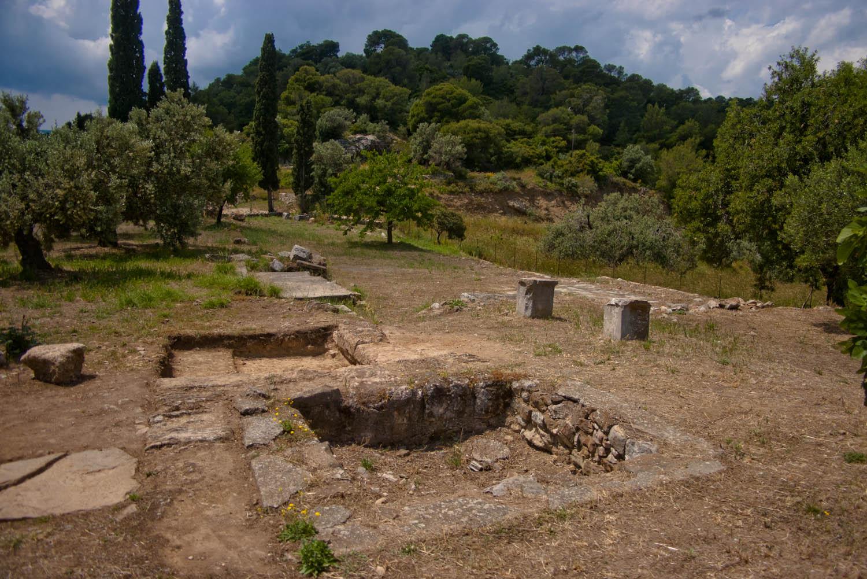 Santuario de Poseidón Poros Grecia