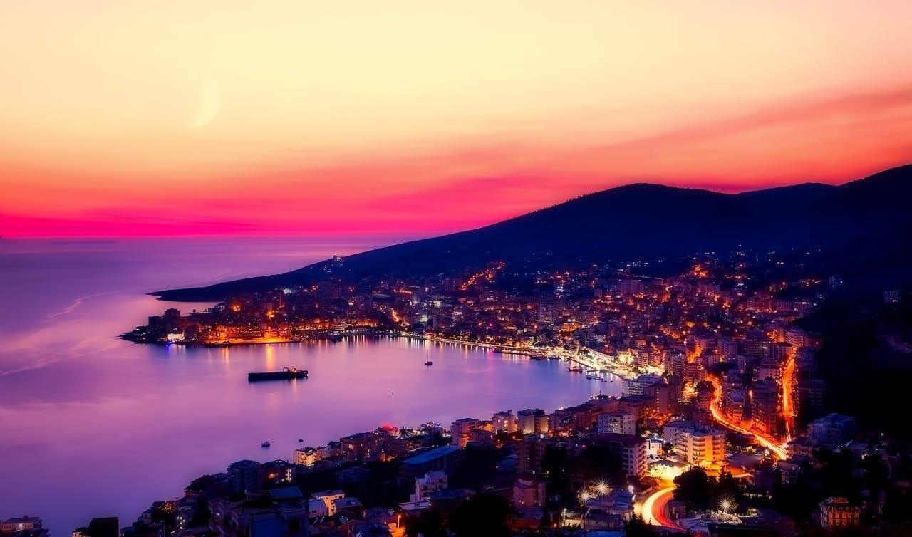 Sarande Albania Panorama Albania