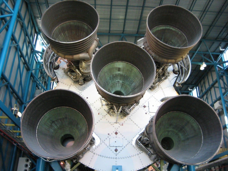 Saturno V, Complejo de Visitantes del KSC Cabo Cañaveral Estados Unidos