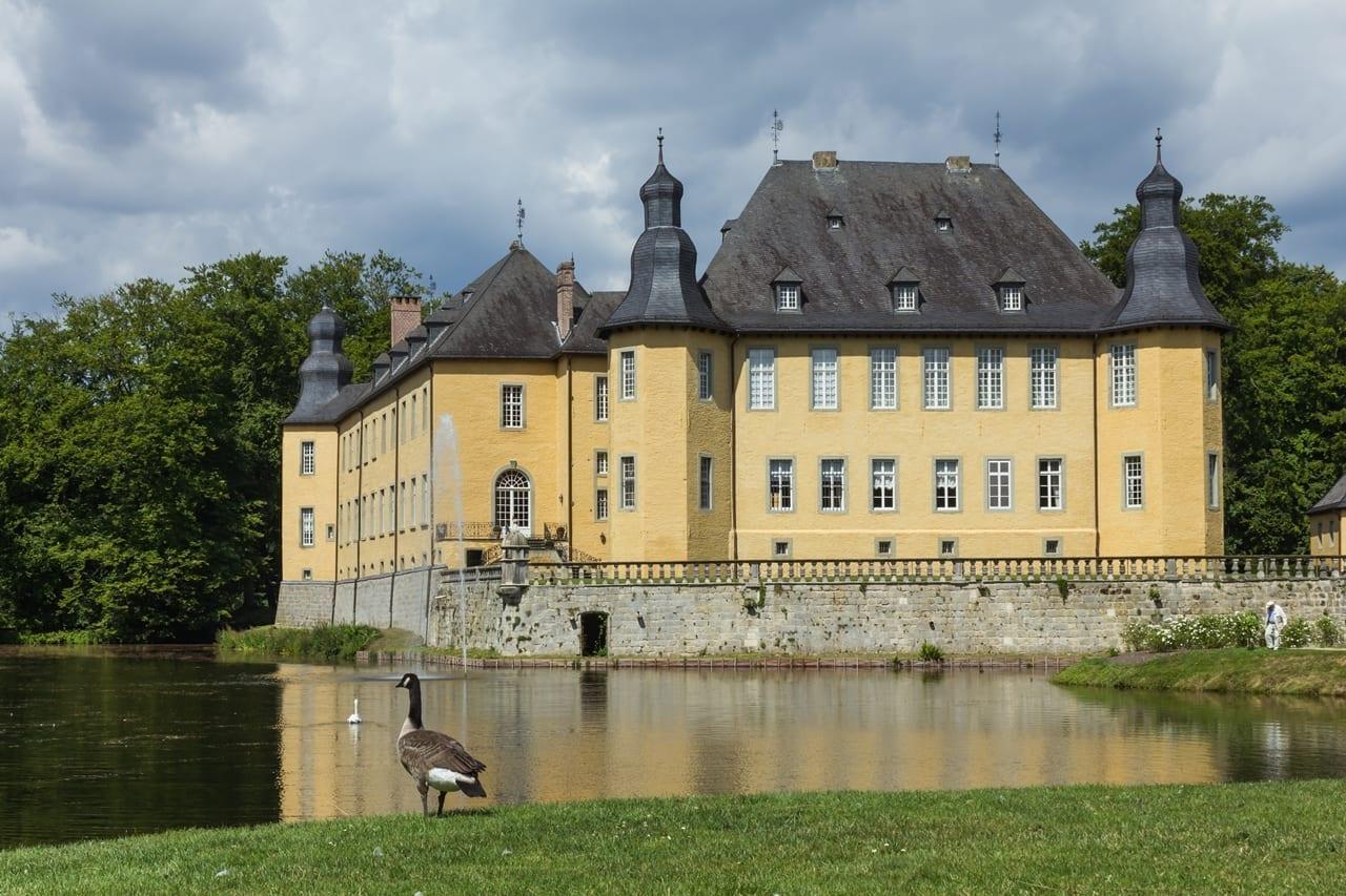 Schloss Dyck (Castillo de Dyck) Monchengladbach Alemania