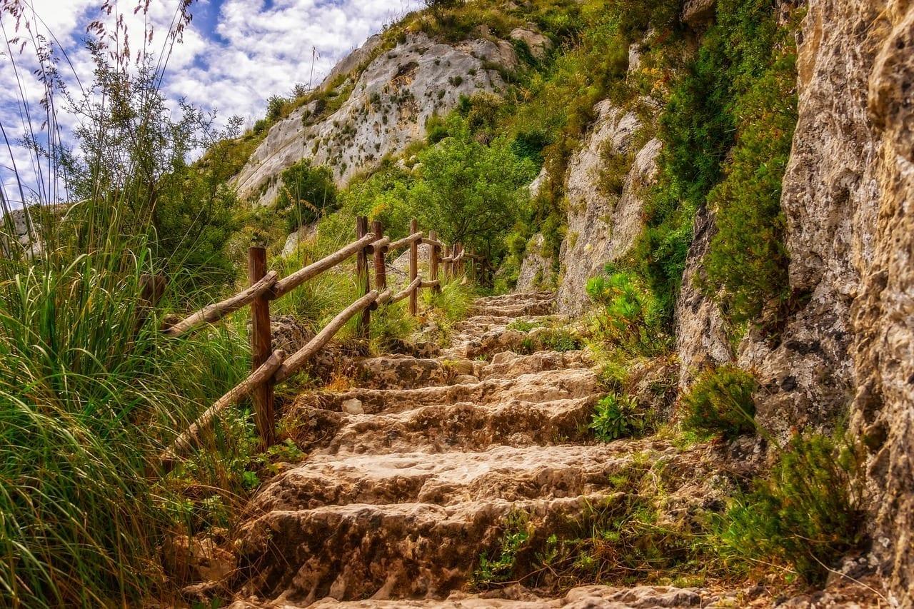 Senderismo Camino Sicilia Italia