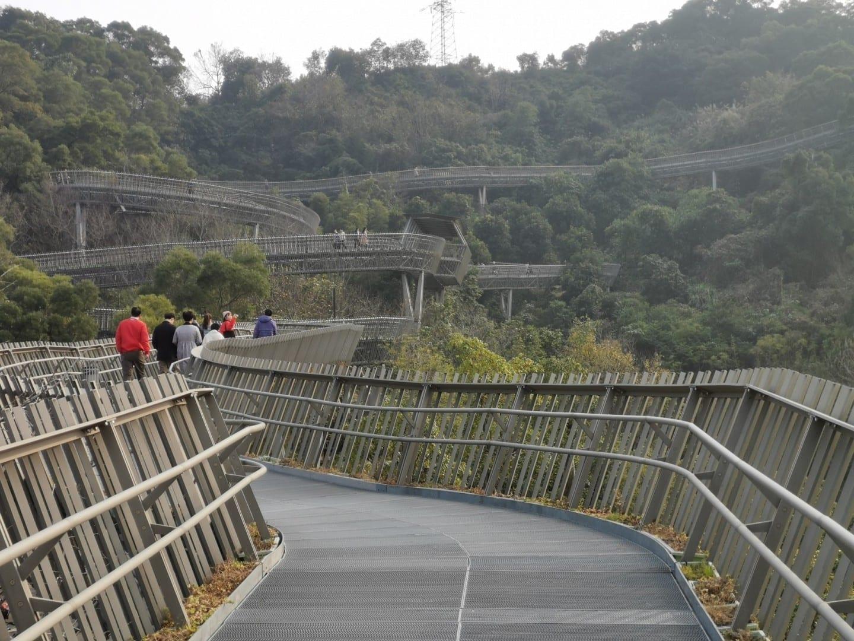 Sendero del bosque de Fu Fuzhou China