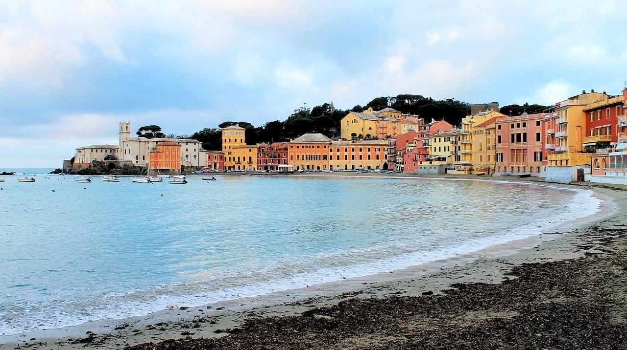 Sestri Levante Mar Costa Italia