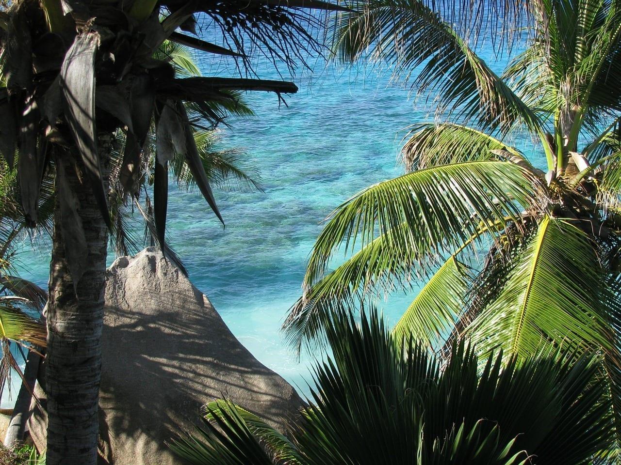 Seychelles La Digue Mar Seychelles