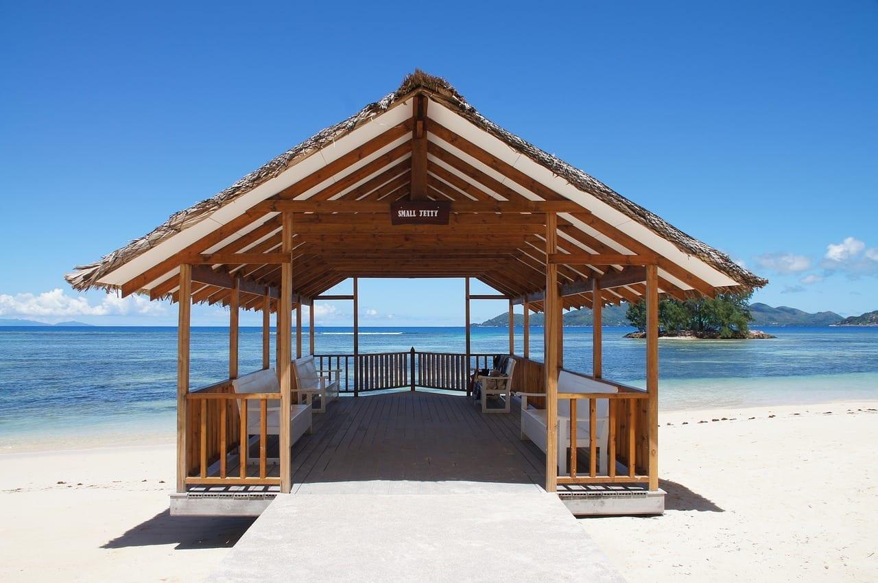 Seychelles Muelle La Digue Seychelles