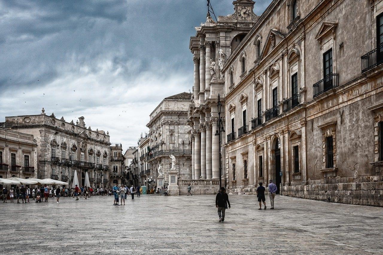 Sicilia Siracusa Arquitectura Italia