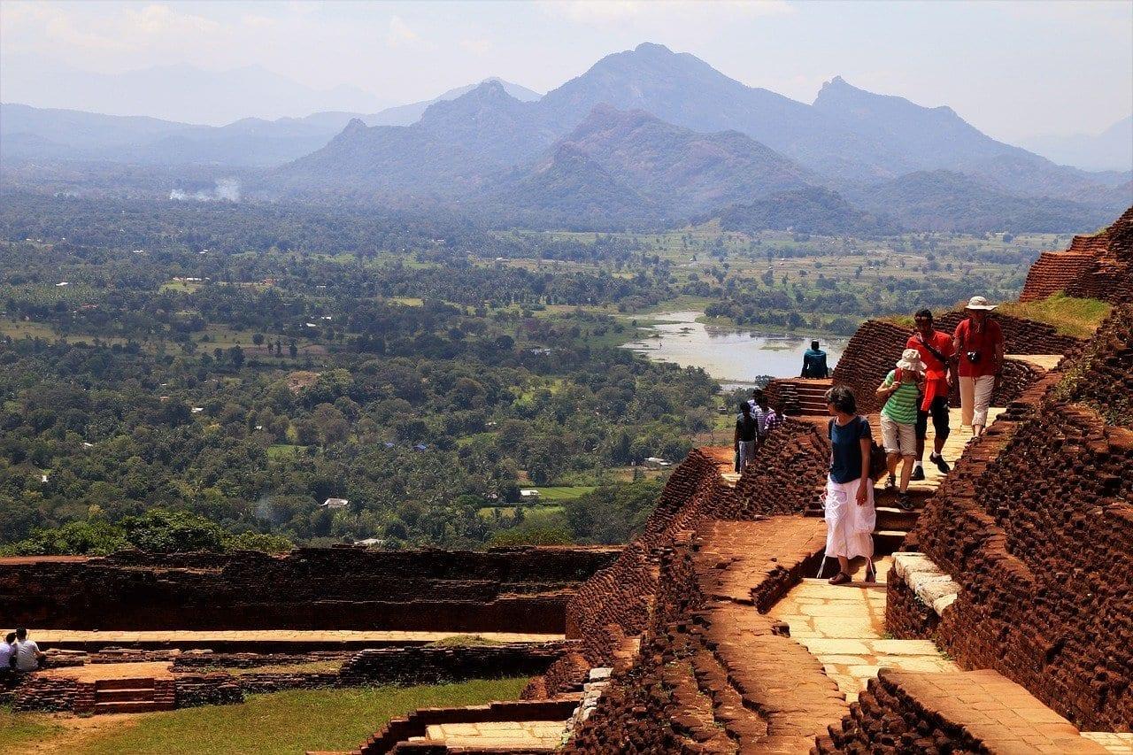 Sigiriya Sri Lanka Montaña Sri Lanka