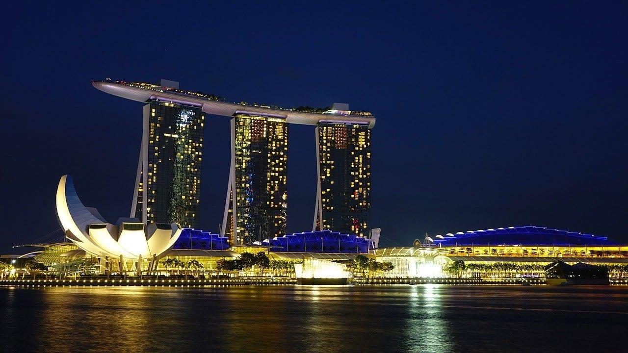 Singapur Marina Bay Sands Hito Singapur