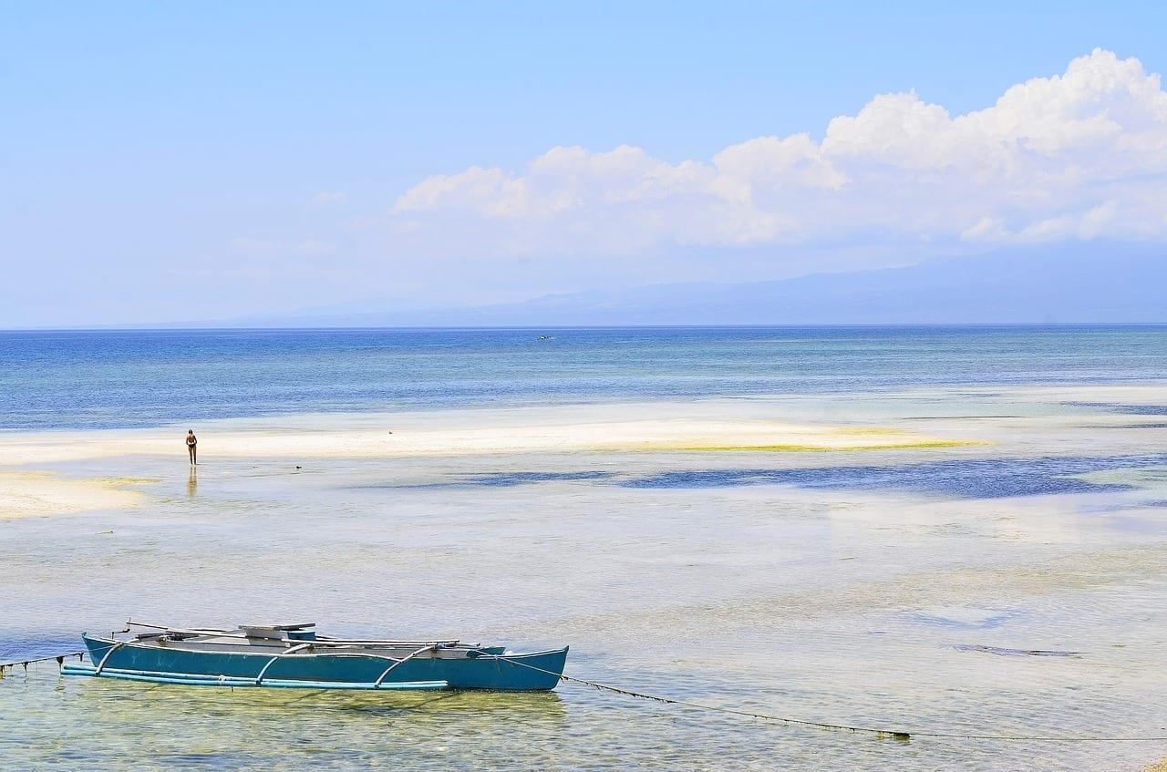 Siquijor Filipinas Playa Filipinas